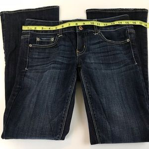 American Eagle Outfitters Jeans - American Eagle Artist Bootcut 2 SHORT Blue Stretch